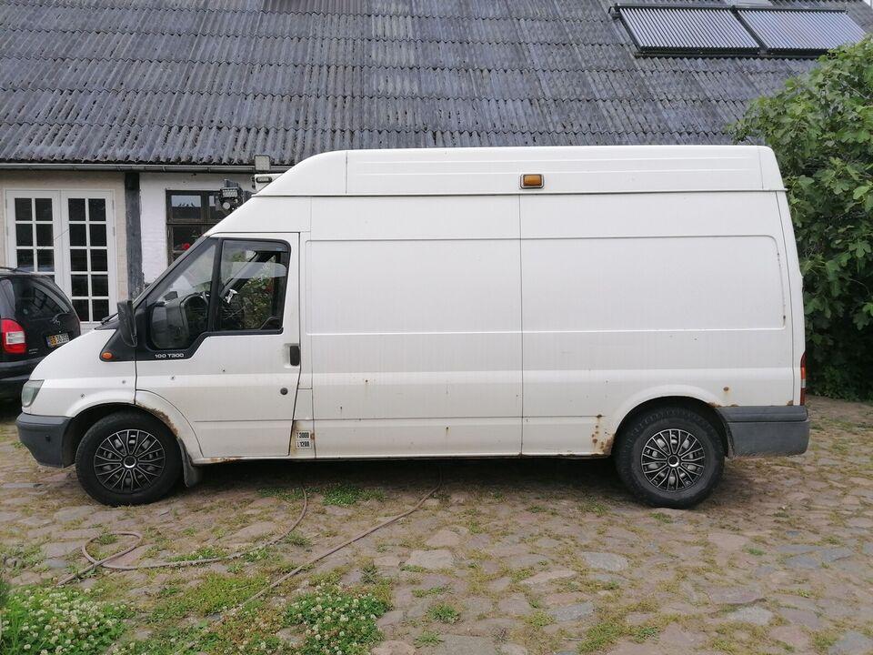 Ford, Transit 300L Van, 2,0 TD 100