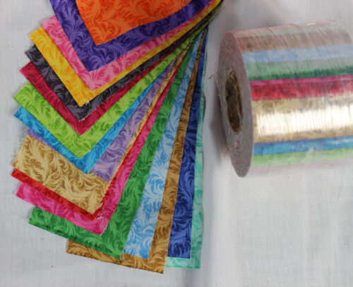 "17 colors High Quality Fabric 2 1//2/"" Jelly Roll cuts Precision cut"