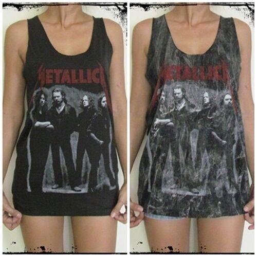 **Unisex James Hetfield Vest** Tank Top Singlet T-Shirt Dress Sizes S M L XL
