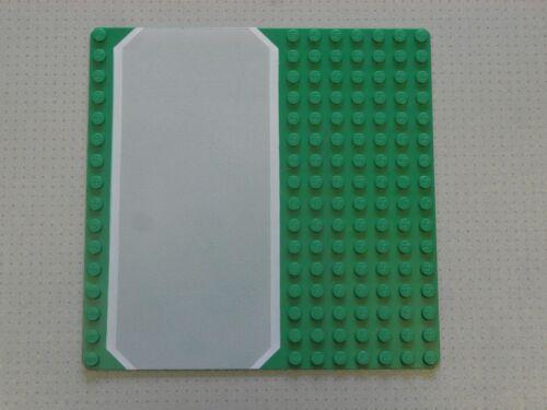 Genuine 30225 Lego Base Plate Building Board 16 x 16 Studs Green Road