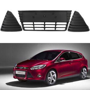 Voiture-Inferieur-Grille-Pare-chocs-Lower-Side-Grill-couverture-Pour-Ford-Focus