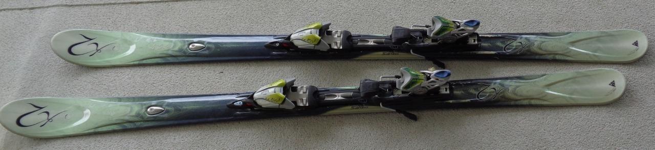 Nice Set of Used Lola Lu K2 167cm Snow Ski with Biotech Marker 11.0 Bindings