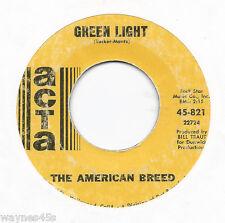 AMERICAN BREED * 45 * Green Light * 1968 #39 * USA ORIGINAL on ATCA