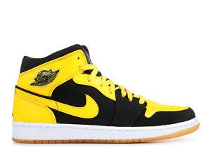 black and yellow air jordans