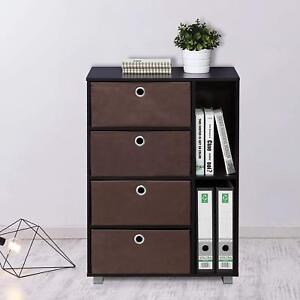 4 Drawer Chest Dresser Bedroom Storage Cabinet Furniture Clothes Organizer Wood
