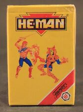1991 Heraclio Fournier cards HE-MAN NEW ADVENTURES Spanish deck SEALED 33 cards