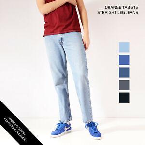 LEVIS-615-STRAIGHT-LEG-JEANS-DENIM-GRADE-A-W30-W32-W34-W36-W38-W40