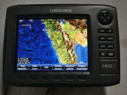 Lowrance Model HDS 8 GEN 2 Insight USA Fishfinder//GPS