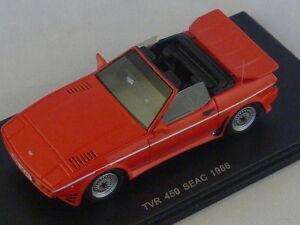 Spark S0238 - Tvr 450 Shock 1986 Rouge 1/43