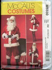Santa Costume & Bag McCalls Sewing Pattern - Men & Women - Sizes Sml. Med & Lrg