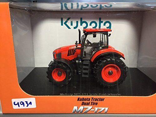 4931 Kubota M7-171 with Dual Tyres Us Version, 1 3 3 3 2 Universal Hobbies 808c7a
