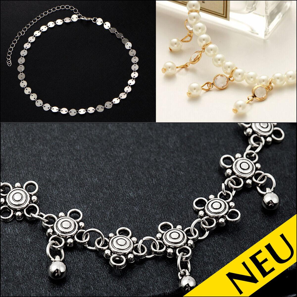 Fashion Jewelry Fashion Style Silber Kugel Fußkette
