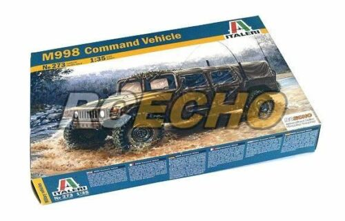 ITALERI Military Model 135 M998 Command Vehicle Scale Hobby 273 T0273