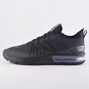36f1ab6d81a Details about Nike Air Max Sequent 4 Utility Mens Running Black/Anthracite  White AV3236 002