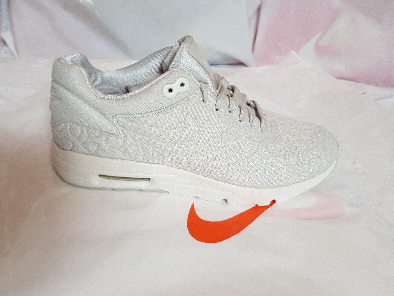 Zapatos promocionales para hombres y mujeres NIKE AIR MAX 1 ULTRA PLUSH Damen Größe 38,5 Beige Creme NEU! 844882-003