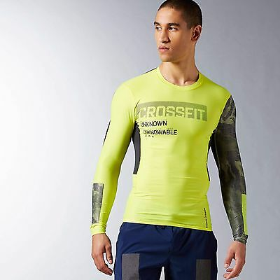 Reebok Men's CrossFit Long Sleeve Compression Training Top AX8877
