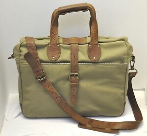 Image Is Loading United By Blue Lakeland Canvas Leather Tan Lite