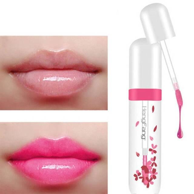 Fashion Long Lasting Lip Gloss Color Change Clear Liquid Lipstick Moisturizer