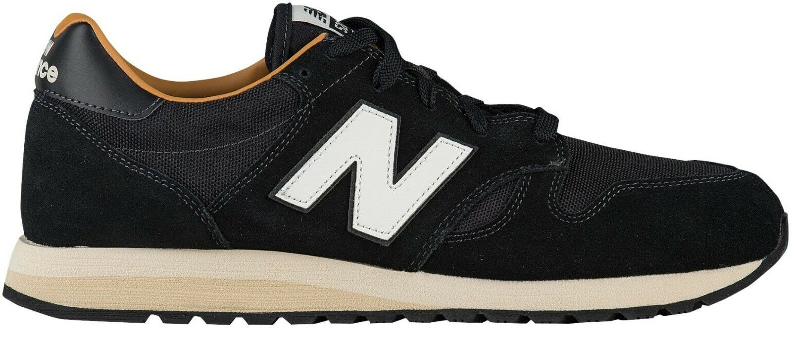 New Balance Men's 520 SUEDE b BLACK Running Shoes U520BH b SUEDE a1e6fc