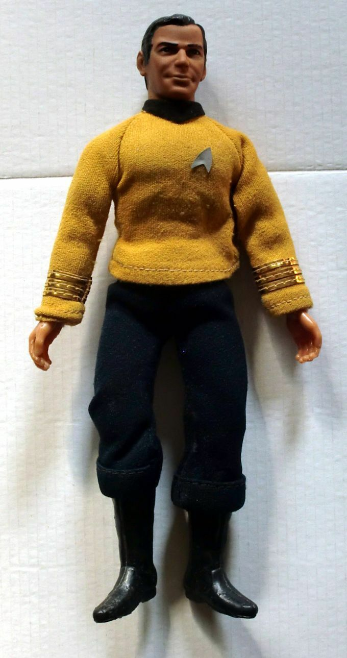 Vintage Mego Star Trek James Kirk 1974  ACTION FIGURE LOOSE NEAR MINT RARE  pour pas cher