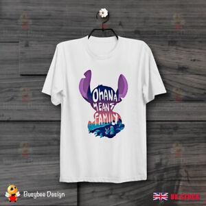 Lilo-and-Stitch-Ohana-Means-Family-Movie-Slogan-Vintage-Unisex-T-Shirt-B525