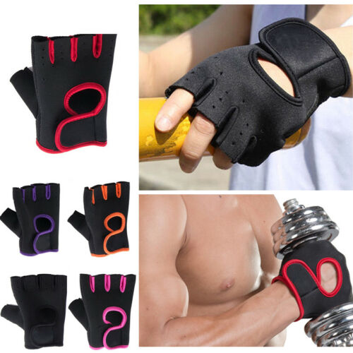 Men/'s Fitness Exercise Workout Weight Lifting Sport Gloves Gym Training Women