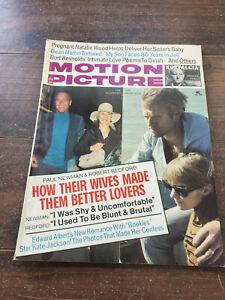 Vintage-Motion-Picture-Magazine-April-1974-Robert-Redford-Paul-Newman