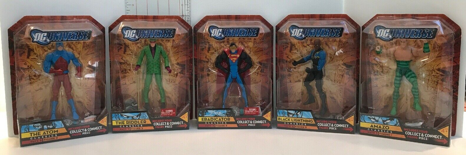 DC Universe Classic Series METALLO BAF COMPLETE DCUC Wave 5 Walmart Exc Lot