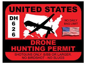 Drone-Hunting-Permit-United-States-Bumper-Sticker