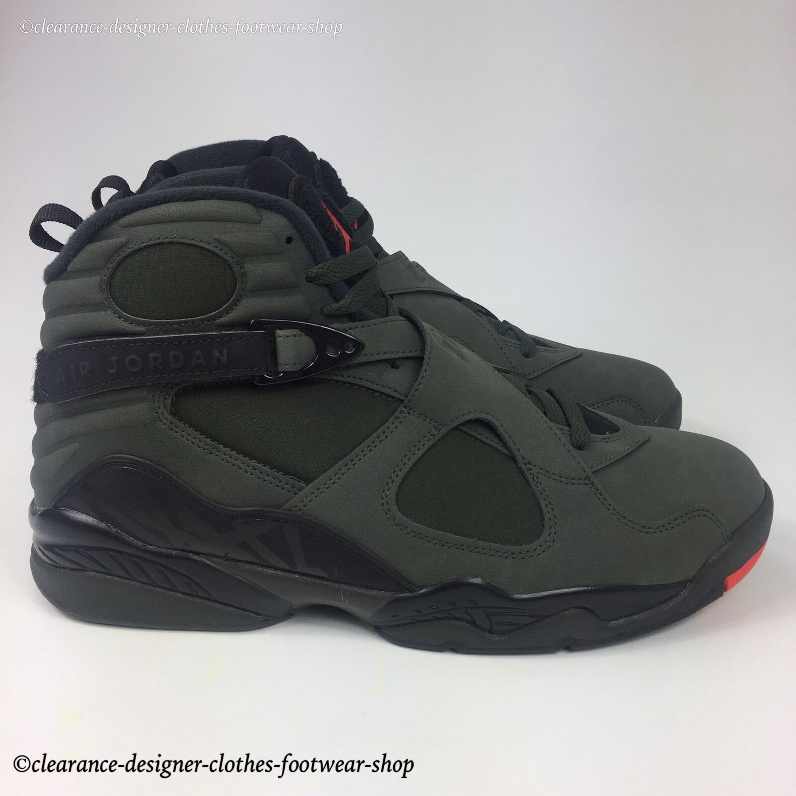 c1191c4ae0a23a Nike Air Jordan 8 Retro VIII Take Flight Undefeated Sequoia Men Aj8 305381-305  UK 10 for sale online