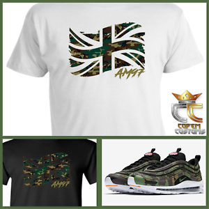500131fb EXCLUSIVE TEE/T-SHIRT to match NIKE AIR MAX 97 COUNTRY CAMO PACK UK ...