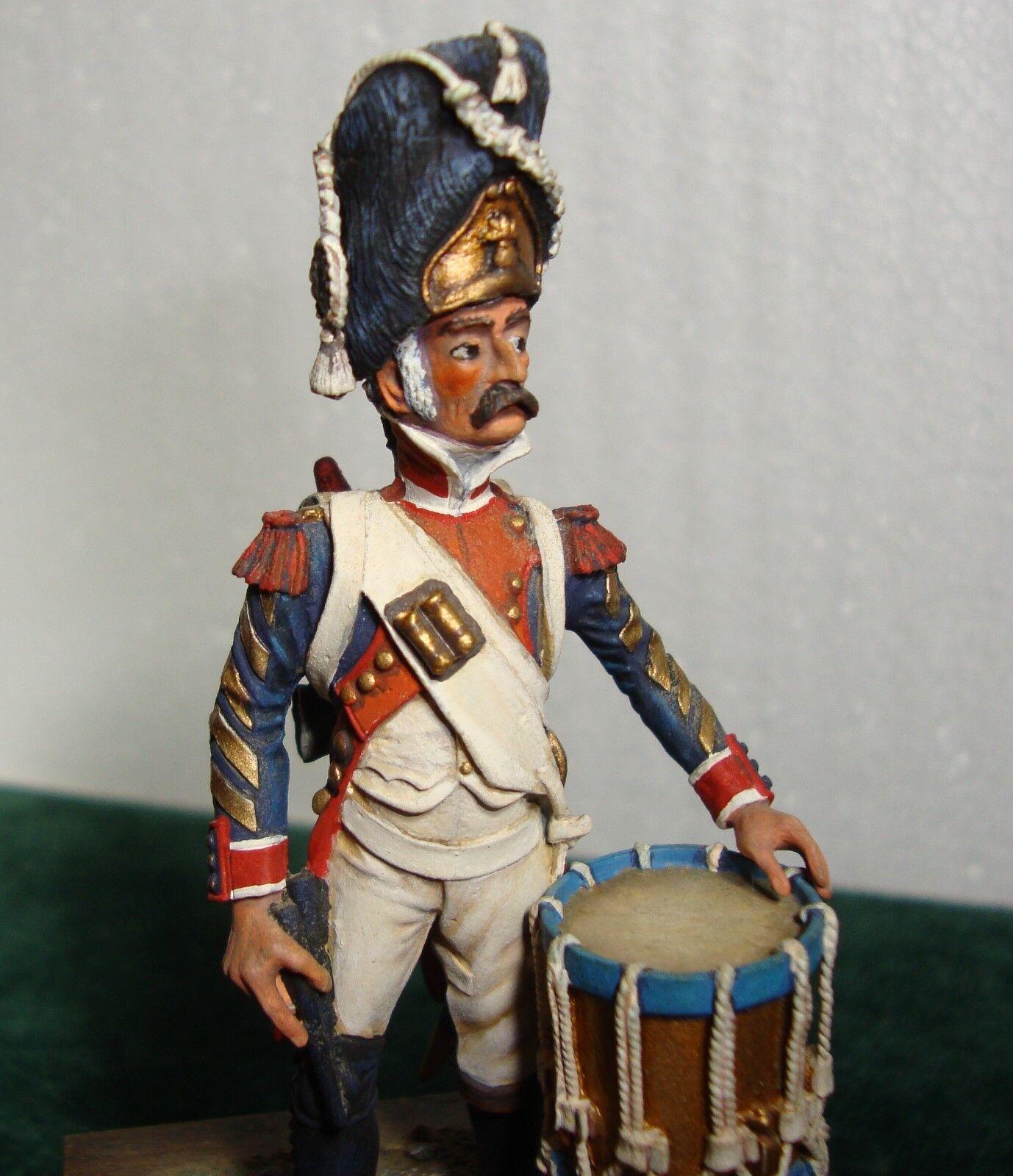 Vintage Lead Miniature French Line Infantry Drummer (era 1807-1815)