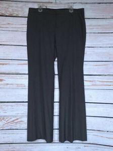 Size-14-GAP-Womans-Gray-Plaid-Perfect-Trouser-Pants-Slacks