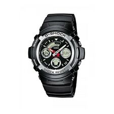 Mens G-Shock illuminator Water Resistant Casio AW-590-1A Analog & Digital Watch