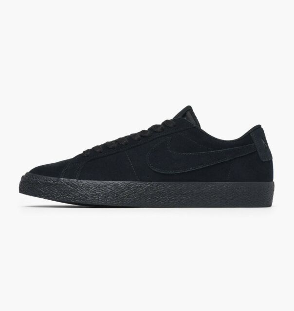 brand new b54cb 6668f NEW NIKE SB ZOOM BLAZER LOW SHOES BLACK MENS SZ 10.5 864347 004 RARE COLOR!!