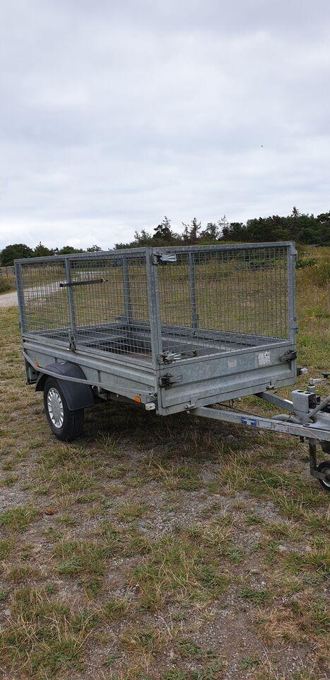 Trailer, Brenderup trailergruppen L751, lastevne (kg):