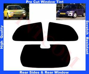 Passgenaue-Auto-Toenungsfolie-Mitsubishi-Colt-3T-96-04-Heck-Seitenscheiben-5-50