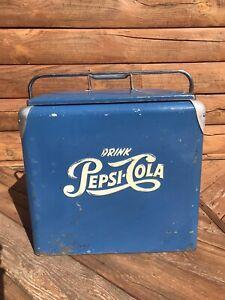 Original 1950's Pepsi Ice Chest Cooler