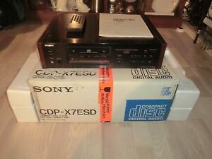 Sony CDP-X7ESD High-End CD-Player, inkl. FB&BDA, OVP&NEU, 2 Jahre Garantie