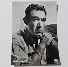 Cartolina attori Anthony Quinn 10,3x14,8cm