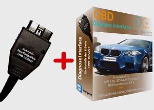 OBD2 Diagnosegerät Interface für BMW Inpa Ediabas + Software E60 E39 E46 E53 E87