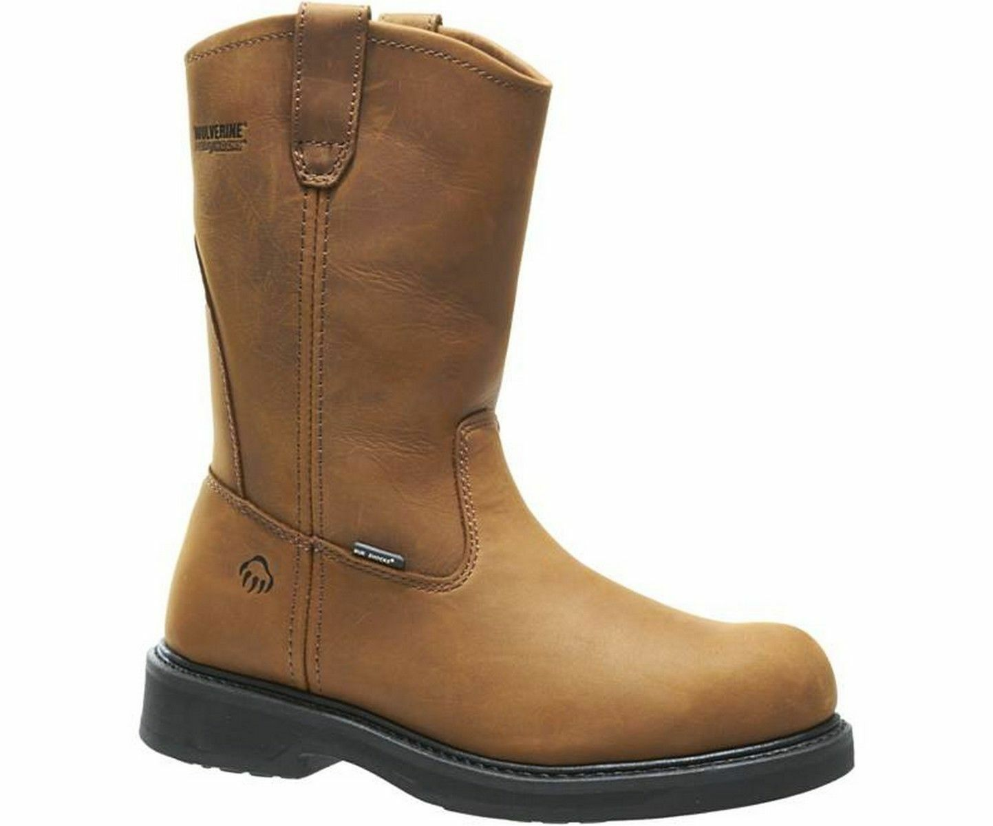Wolverine Mens Ingham Well DuraShocks Steel Toe Work Boot NWB Size 8-13 W06683