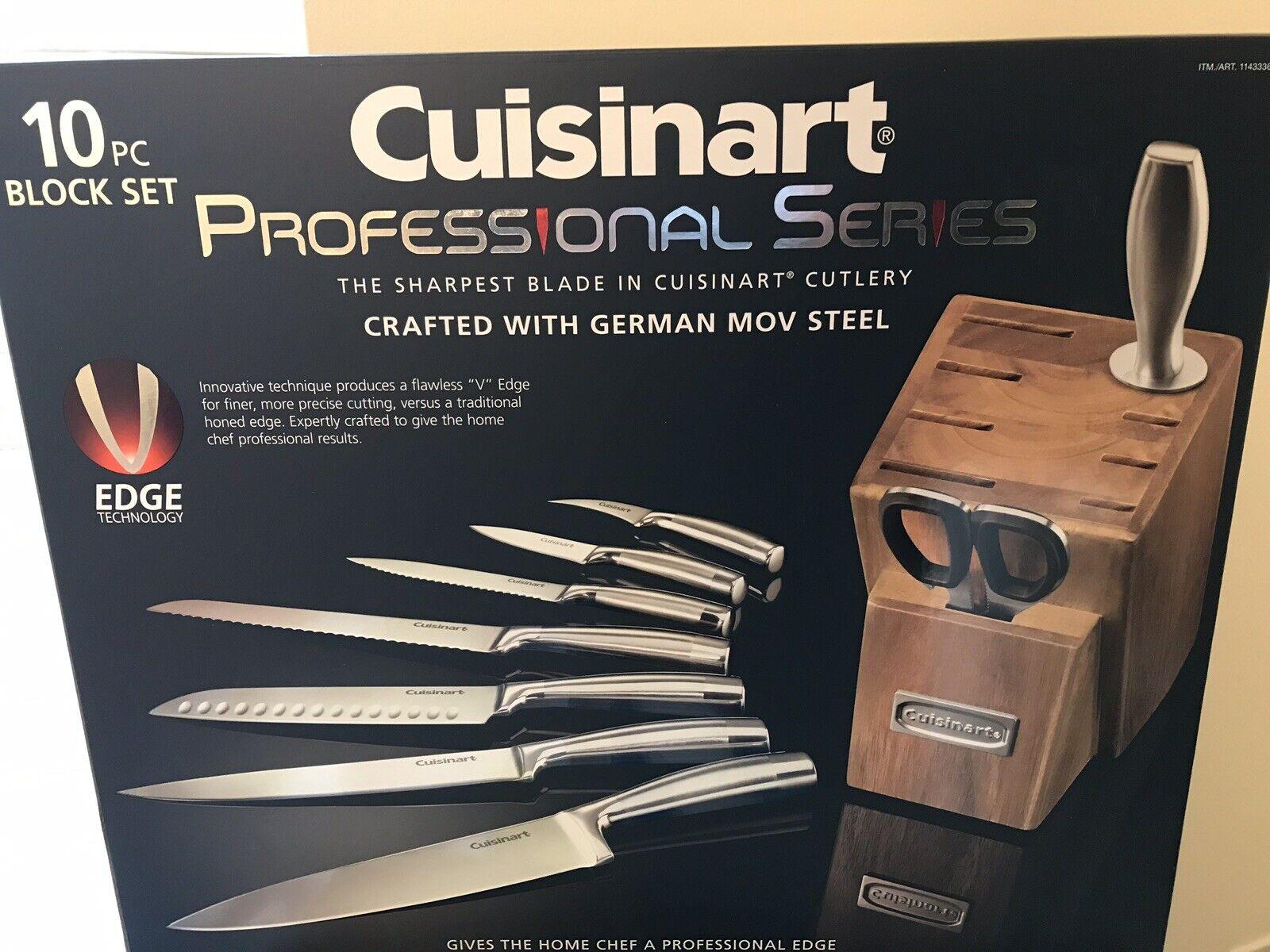 Cuisinart Professional Series 10 Pièces Bloc à Couteaux Set