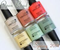 Cnd Vinylux Open Road Spring Collection 2014 Weekly Polish 15 Ml Choose 1 Color