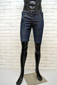 CALVIN-KLEIN-Bermuda-Slim-Jeans-Uomo-Taglia-30-Pants-Pantalone-Corto-Shorts