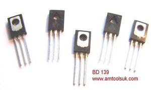 5 x BD139 NPN grand QRP PA transistor-afficher le titre d`origine jGAtbfgo-07164728-938041642