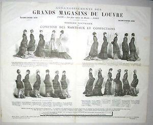 Affiche-originale-Grands-Magasins-du-Louvre-mode-1879-ill-par-Dutheil-et-Henriot