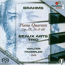 Beaux Arts Trio, J. - Piano Quartets Op 25 26 & 60 [New SACD] Hybrid SACD