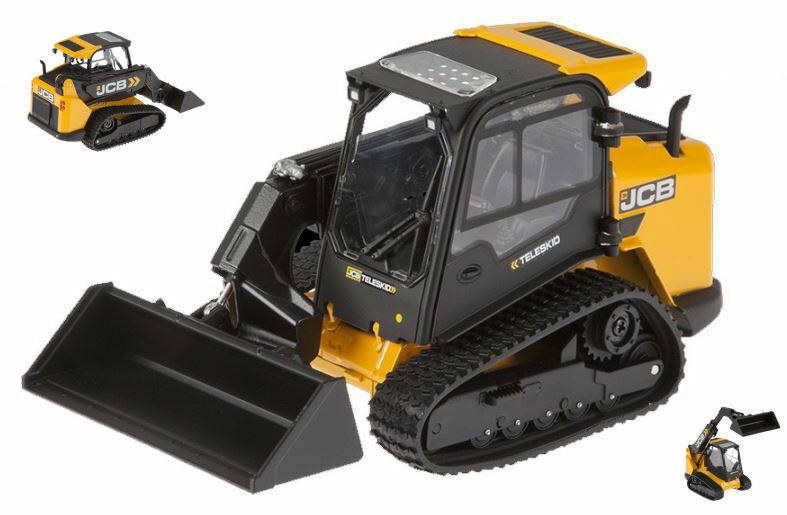 JCB Wheeled 330 Skid Steer Loader 1 32 Model ros00214 ROS