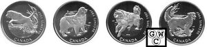 1997-Proof-50ct-Dogs-of-Canada-Set-10476